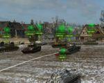 Таймер перезарядки над танком противника для WoT