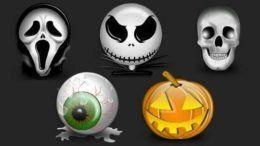 лампочки 6 чувства Хэллоуин