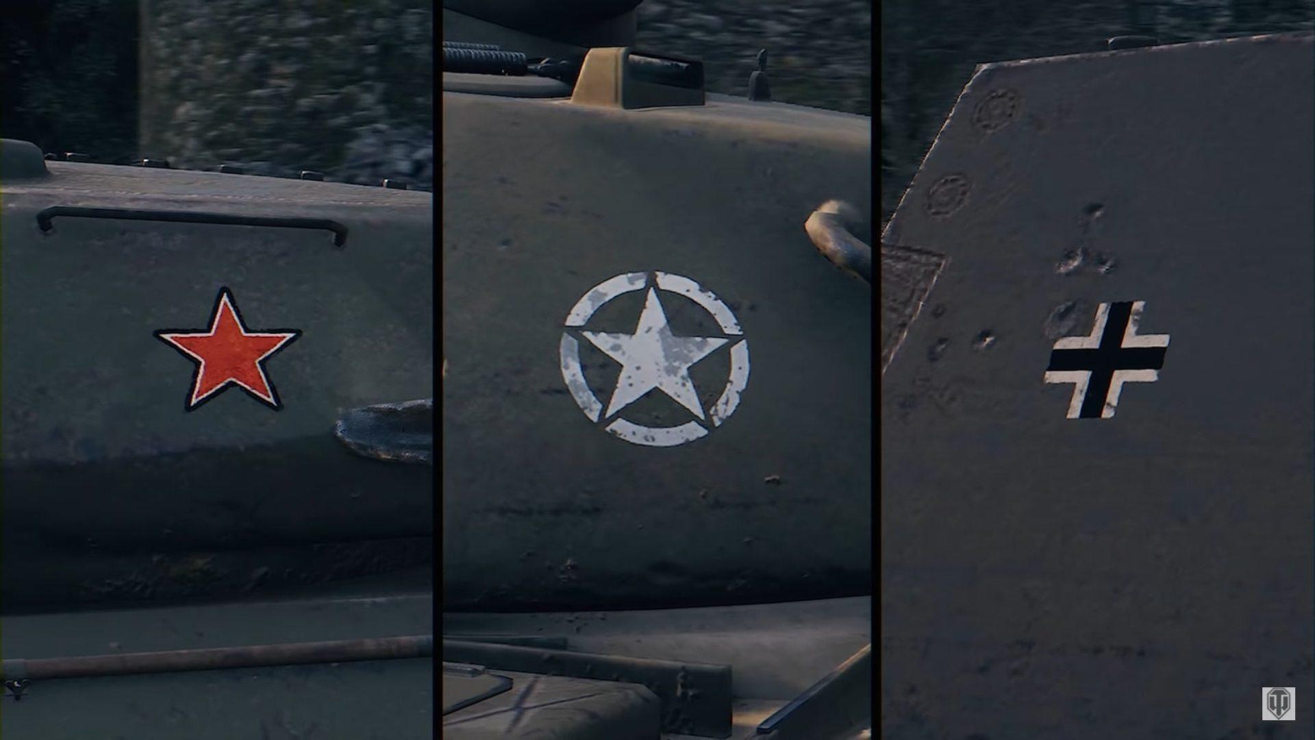 ап ИС-4, E100 и T110E5 новом патче